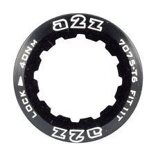A2Z Alloy 11t Anodized Lockring for Shimano & SRAM Bike Gear Cassettes Black