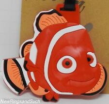 Nemo Clown Fish LuggageTag Silicone Easy to Find Flying Travel Suitcase Vacation