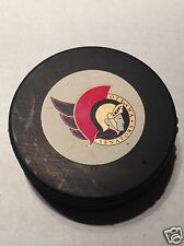 Ottawa Senators 1993-1994 In Glas Co scarce original logo souvenir puck