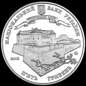 Ukraine Coin 5 Griven 2013 1120 Years of the City of Uzhhorod UNC New C220