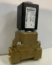 "Burkert 0406 A 13.0 6-4722522901 93537906 2-Way Solenoid Valve 1/2"" 24V DC 8W"