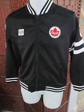 Team Canada Olympic Track Jacket Boys 14-16 Black 2012 Hudson Bay