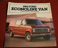 Showroom Ford Dealer MINT Parcel Delivery Van Truck 1979 Brochure