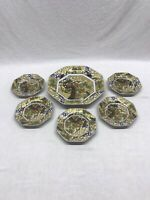 Chinese Porcelain Decorative Plate Set