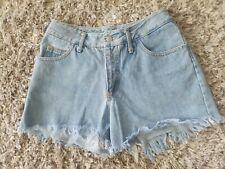 Nada Nuff Vintage 80s 90s High Waist Mom Jean's Cut Off Into Short Shorts Sz 9
