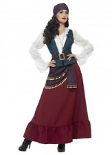 Deluxe buccaneer Beauty gypsy wench fortune Pirate Caribbean movie Costume XL 16
