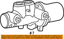 CHRYSLER OEM-Brake Master Cylinder 5139148AA