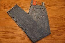 NWT MEN'S LEVI JEANS 511 Multiple Sizes Slim Fit Below Waist Stretch Stonewashed