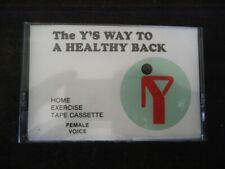 """Vintage 1976 YMCA YWCA """"The Y's Way To A Healthack"""" Audio Casette Female Sealed"""