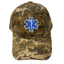 DIGITAL CAMOUFLAGE Cap Hat EMS EMT Emergency Medical Services Paramedic