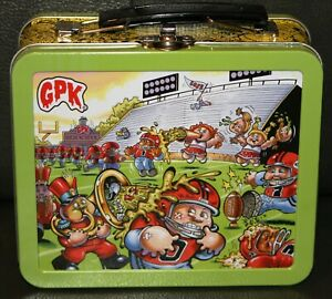 2020 GARBAGE PAIL KIDS LATE TO SCHOOL GREEN COLLECTOR EDITION EMPTY LUNCH BOX