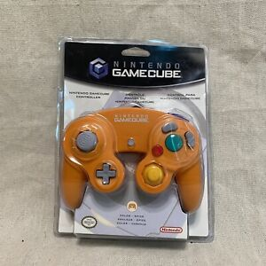 Official Nintendo Gamecube Controller CIB Spice Orange Sealed Brand New