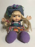 Vintage Baby Pick Me Up Doll Blonde Interactive Works 1997 DSI Talks