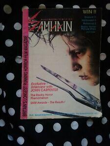 Samhain Magazine Horror Retro Vintage 1991 RARE
