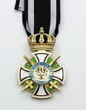 German House Order of Hohenzollern with Swords and ribbon