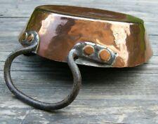 More details for a british rail catering buffet car copper short handle pan 19cm dia  #4