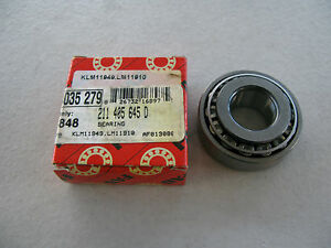 NEW FAG 211405645D FRONT WHEEL BEARING FOR AUDI VW (211 405 645 D)