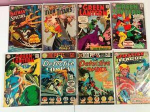 Silver Age DC Lot Detective Comics, Justice League, Green Lantern, Brave & Bold