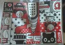 NEW Pucca & Garu Rare Anime Character Shopping Tote grocery book anything bag