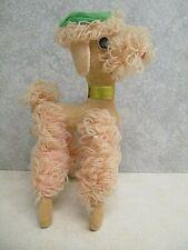 Dream Pets PINK Tammy Poodle Vintage Stuffed Plush Dakin Made In Japan