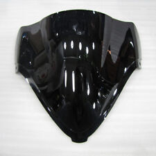Black Screen Double bubble For 2008-2017 16 Suzuki Hayabusa GSX1300R Windshield