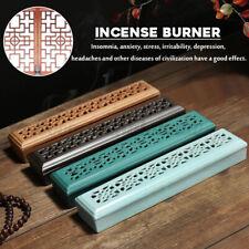 Incense Burners Box Stick Holder Hollow Aromatherapy Smoke Fragrance Home Decor