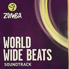 Zumba Dance Fitness World Wide Beats CD! Sounds from Latin & Global Burst! NEW!