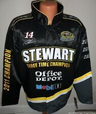 Tony Stewart 2011 Sprint Cup 3-Time Champion Jacket - 6X Free Ship