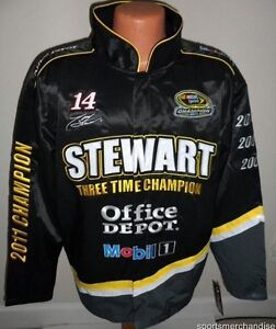 Tony Stewart 2011 Sprint Cup 3-Time Champion Jacket - Men's Small Free Ship