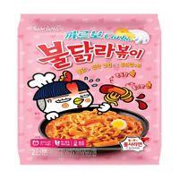 Korean Instant Hot Spicy SAMYANG CARBO BULDAK RAPOKKI Topokki Noodle