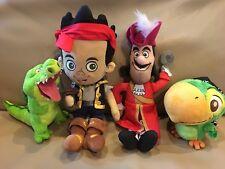 Disney Jake Neverland Pirates Plush Jake Tick Tock Crocodile Captain Hook Skully