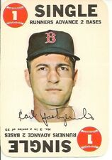 "1968 Topps Baseball ""Game"" Card - #3 - Carl Yastrzemski - EX+ - See scans"