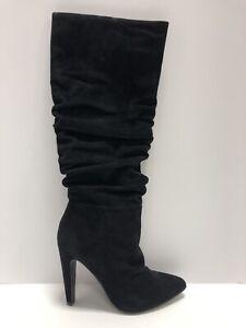 Steve Madden Carrie Black High Heel Winter Boots Women's Size 6.5M