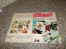 ALBUM RISORGIMENTO ED.ODS 1965 COMPLETO ORIGINALE  MB/OTTIMO TIPO PANINI IMPERIA