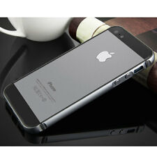 For Apple iPhone 5s SE Case LUXURY Metal Aluminum Rugged Silicone Bumper Covers