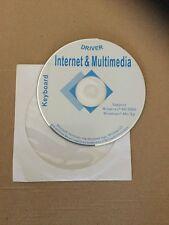 MICROSOFT - WINDOWS - DRIVER INTERNET & MULTIMEDIA - W98/2000 - ME/XP CD VINTAGE