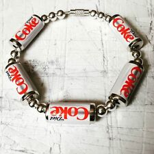 Coca Cola bangle Gift soda Cool! Unique Diet Coke Cans Bracelet handcrafted