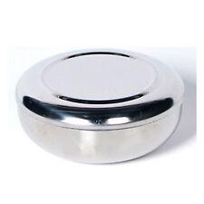 Korean Stainless Steel Rice Bowl with Lid Rice Dish Sanitary Tableware