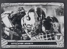 TRANSFORMERS OPTIMUM COLLECTION (Breygent) METAL PRINTING PLATE CARD #39 BLACK
