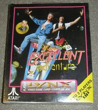 Bill & Teds Excellent Adventure Complete New Atari LYNX Factory Shrunk Wrapped