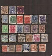 HONDURAS 1895-1907  27 stamps