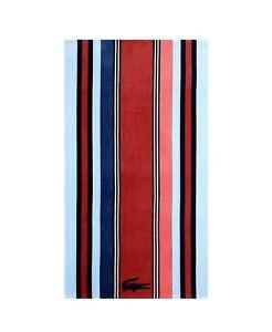"""Lacoste Beach Towel Cotton 36"""" X 72"""""""