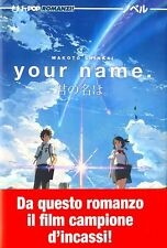 J-POP YOUR NAME ROMAN MANGA - AU BANDE DESSINÉE PAR MAKOTO SHINKAI NOUVEAU