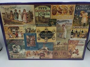 Cadbury Heritage Collection By Gibsons Games 1000 piece jigsaw puzzle*NEW*