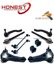 For RENAULT TRAFIC 01-10 FRONT SUSPENSION ARMS LINKS TIE TRACK RODS D BUSH KIT