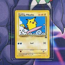 Surfing Pikachu # 28 Black Star Promo WOTC Rare NEAR MINT Pokemon Card