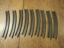 VINTAGE MARX TOYS HO OO GAUGE TRACK 9 X 200 MM BENDS