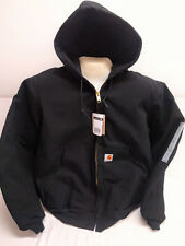 Carhartt J140 Duck Active Jacket sz 2XTALL BLACK USA [CBX32-140] READY TO SHIP