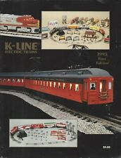 K-Line 1993 First Edition Catalog  (K-Line Electric Trains) ~A279