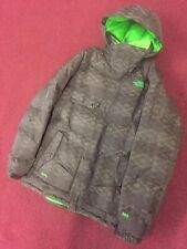THE NORTH FACE 600 SERIES JACKET BROWN COAT GOOSE DOWN XL CRYPTIC PARKA RECCO